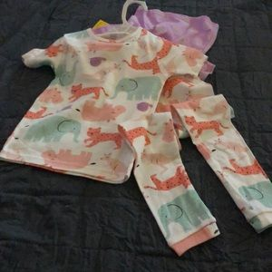 NWT Carter's Just One You Girls 4T Pajamas